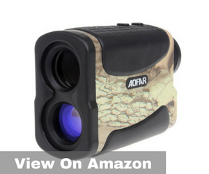 Laser Rangefinder for Hunting and Golf