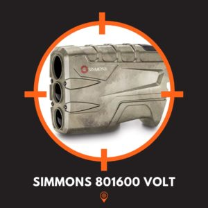 This is a picture of the Simmons 801600 Volt Rangefinder.