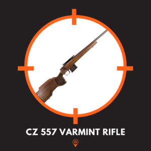 This is a picture of a CZ 557 rifle, one of the best priced long range rifles.