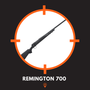 This is a picture of a long range remington 700 rifle.