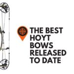 This is a picture of the Hoyt RX-4 Alpha, one of the best Hoyt Hunting bows.