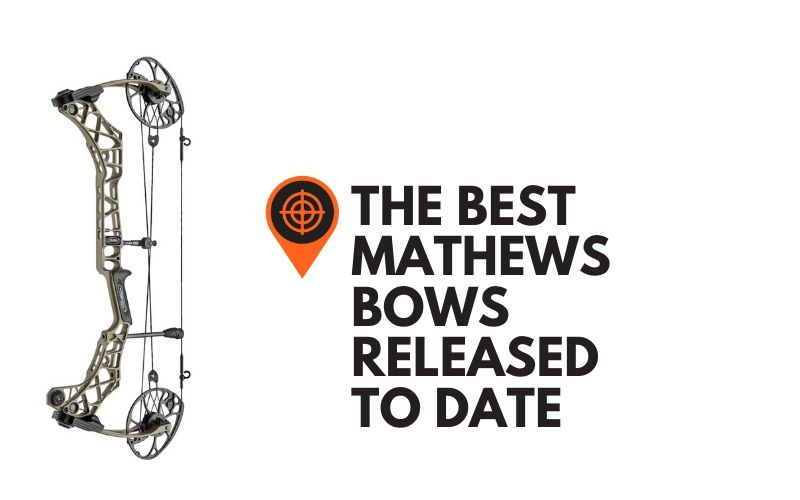 This is image shows that the article is about Mathews Bows.
