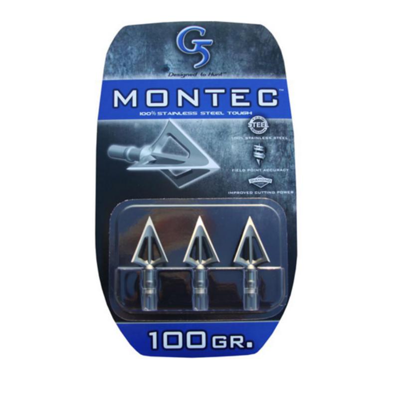 G5 Outdoors Montec Broadhead 3/pk.